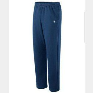 Champion Men's Fleece Lounge Pants Navy XL